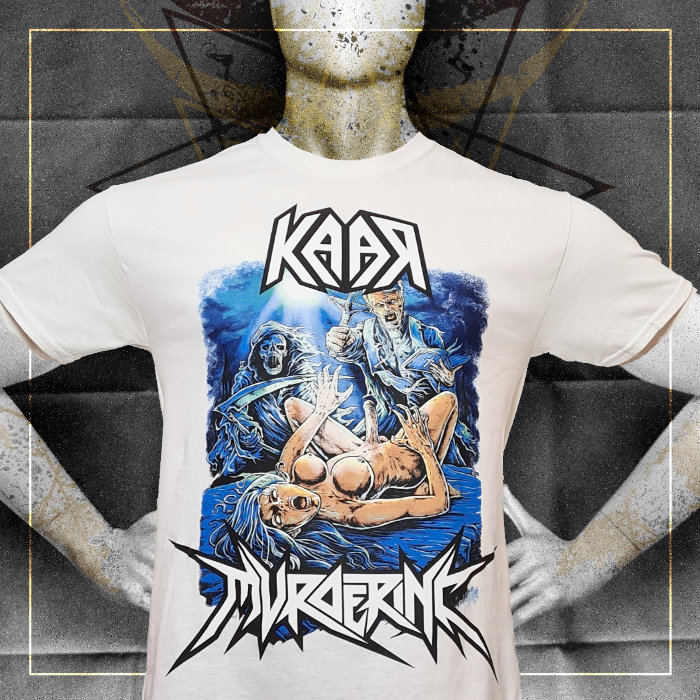 KAAR Male t-shirt Split – white