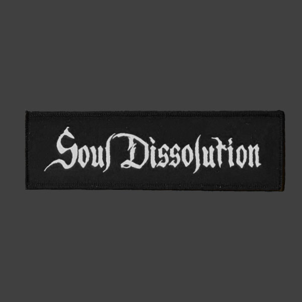 SOUL DISSOLUTION Patch with Logo