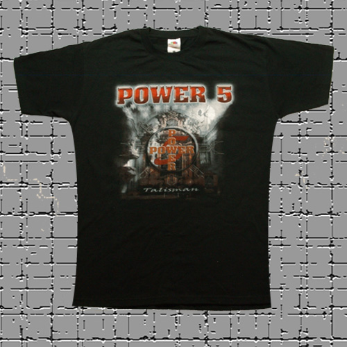 T-Shirt Power 5 Talisman