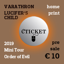 E-ticket Order of Evil Mini Tour 2019