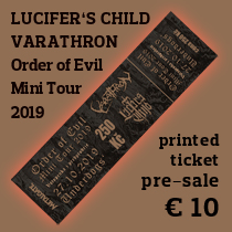 Ticket Order of Evil Mini Tour 2019