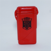 Red pocket ashtray