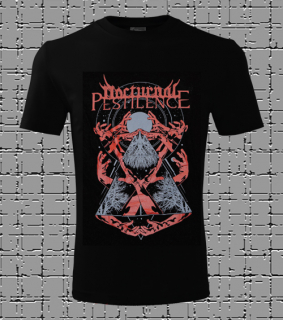 Male t-shirt Nocturnal Pestilence - black