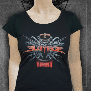 BLAMAGE Women's T-shirt Kavalerie