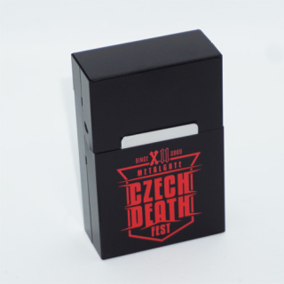 Black cigarette case